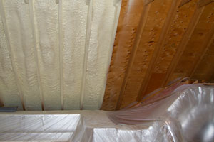 Residential Spray Foam Application in Norwalk